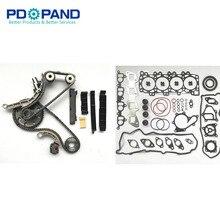 Overhaul Gasket Kit Timing Chain Kit For Nissan NAVARA FRONTIER D40 PATHFINDER R51 YD25DDTI