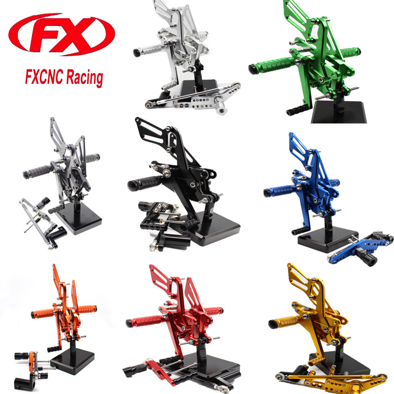FX Motorcycle Foot Rests Rear Sets Footpegs Rearset Fit for HONDA CBR1000RR ABS NON-ABS 2008 2009 2010 2011 2012 2013 2016 2015
