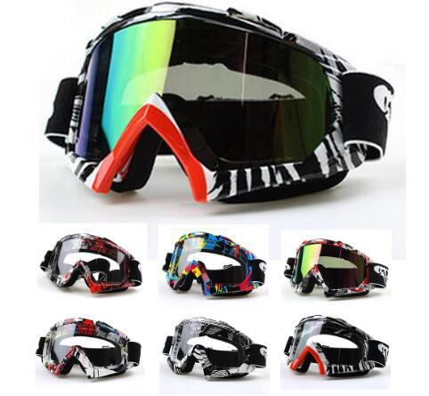 Мотоцикл Мотокросс Байк внедорожной езды очки ветрозащитный наружное Сноуборд горнолыжные спуск на коньках Очки очки