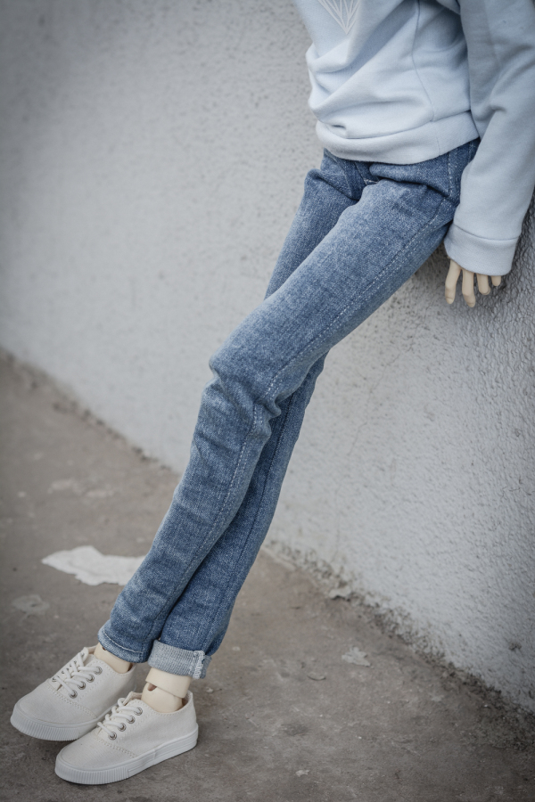 BJD Light Blue Pants Trousers Outfits Clothing For 1/4 Male 1/3 SD17 70cm24