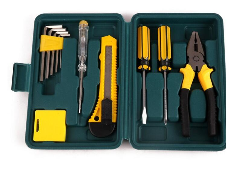 High Quality 11 In 1 Hardware Combination Toolbox Car Maintenance Kit Home Hardware Accessories Hand Tool Sets Mini Tools