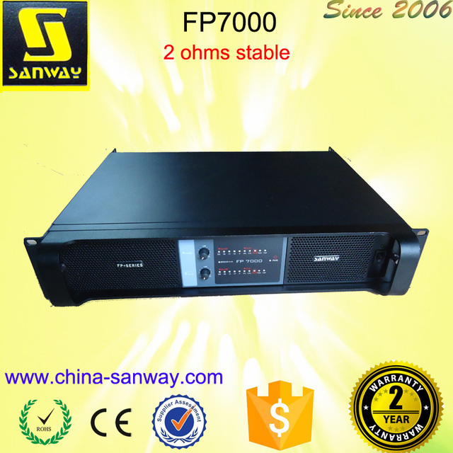 Sound System Mixer Power Amplifier FP7000 Pa System Power Amplifiers