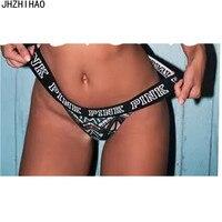 7 pcs/lot Sexy panties g string letter thong underwear women lingerie calcinha panty bragas briefs culotte femme bielizna damska