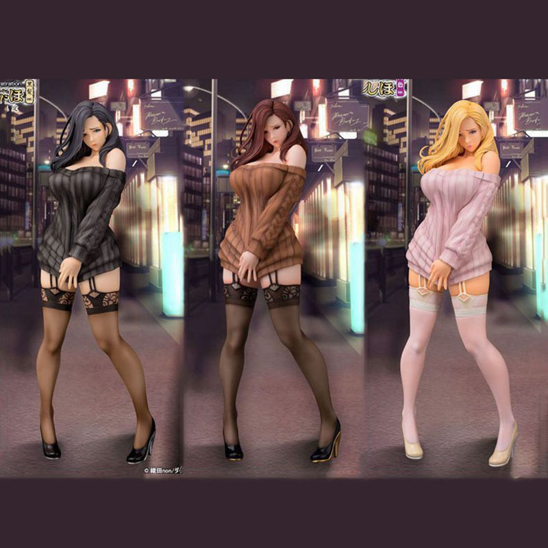 1/6 Sexy Figures Japan Girls Daiki industrial nine poem field non illustration Men Anime Toy 30CM poem