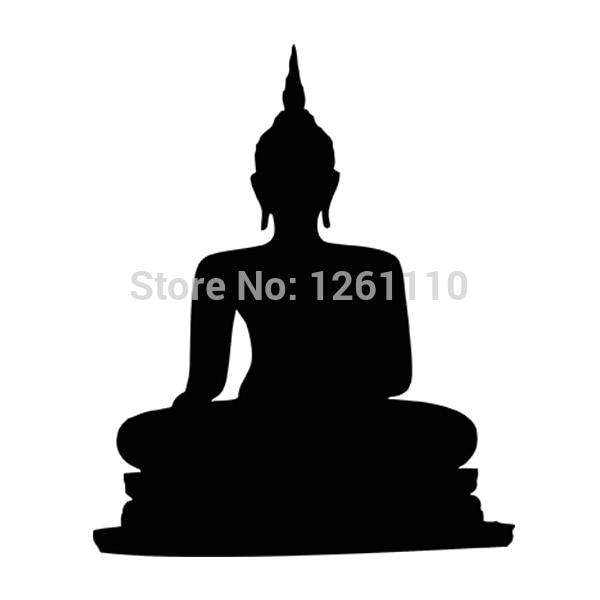 Hotmeini 115x14 Cm Sitzen Budda Buddha Indien Budhism