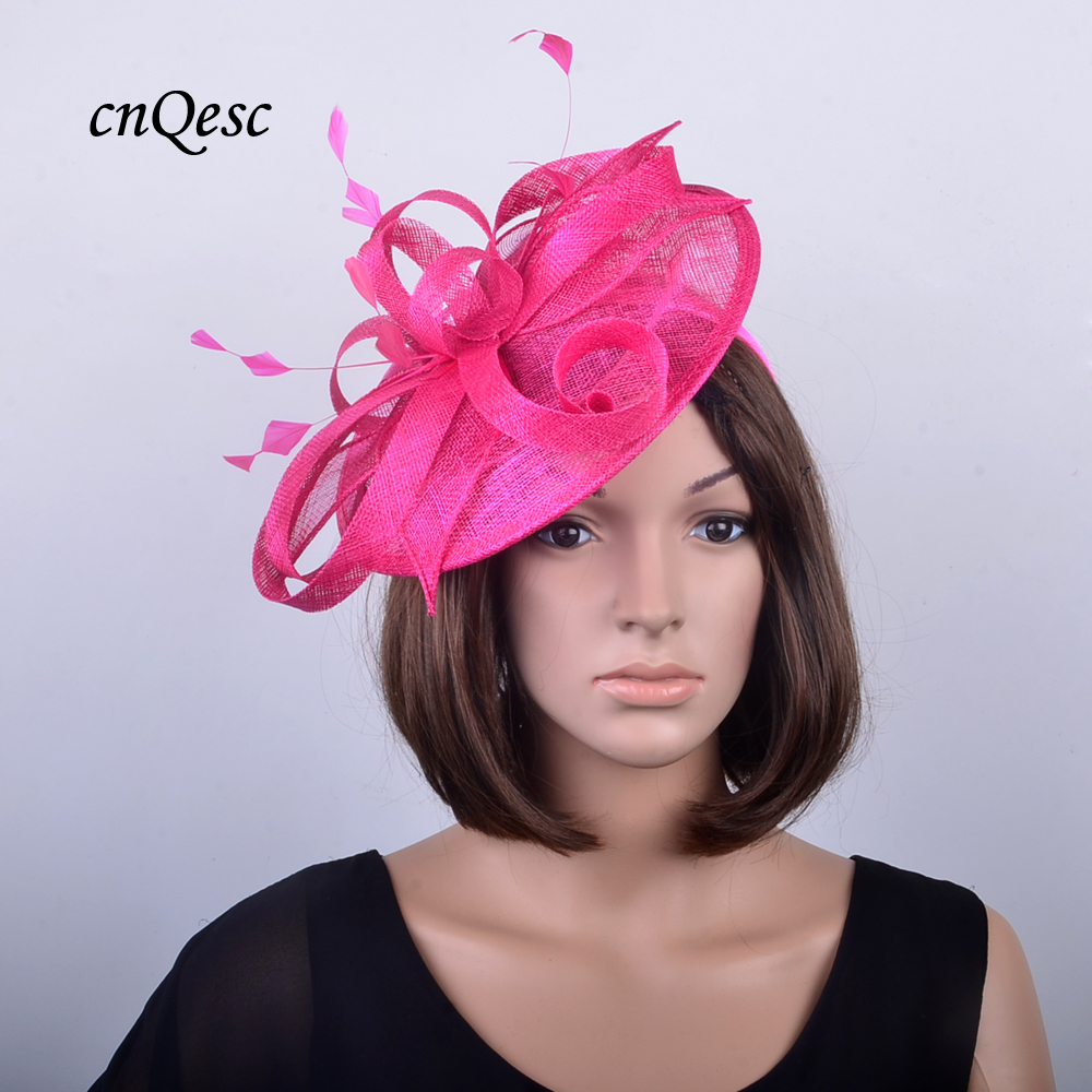 e5dad6b1 Clothes, Shoes & Accessories Large Black Red White Rose Flower Feather Hat  Fascinator Headband Races 5428 ...