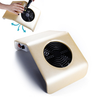 Nail Dust Collector Polishing Vacuum Suction Cleaner Filling Dust Collector Fan Pedicure Machine Nail Art Apparatus for Manicure