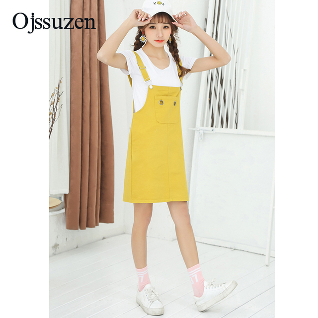 Korean Yellow Dresses