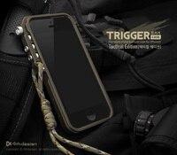 4 thdesign điện thoại di động trigger kim loại khung bumper cho iphone 8 4 4 s 5 5 s SE 6 6 S 7 cộng với nhôm bumper hợp tactical bản MIỄN PHÍ
