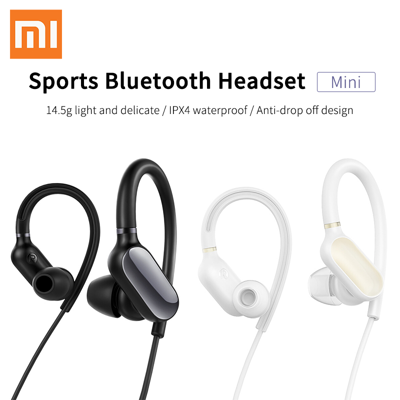 все цены на Original Xiaomi Mi Sports Bluetooth Headset Bluetooth 4.1 Music Earbuds Mic IPX4 Waterproof Wireless Earphones for Xiaomi Redmi