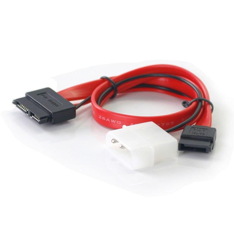 ULT үздік 30 см Slimline SATA кабельдері Molex Slim - Компьютерлік кабельдер мен коннекторлар - фото 2