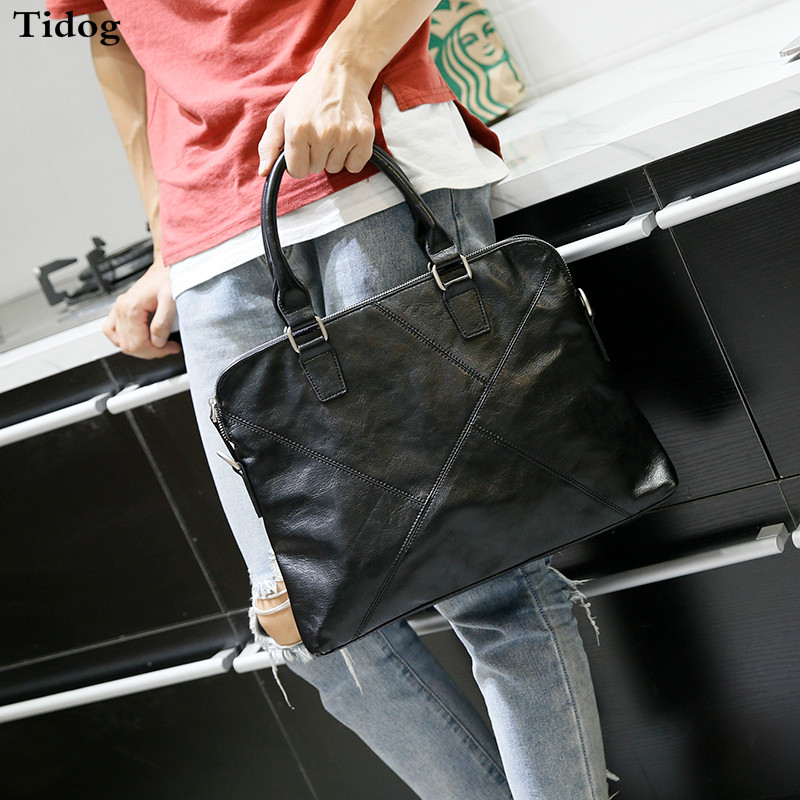Tidog Korean handbag briefcase fashion business bag платье tutto bene plus tutto bene plus tu007ewamif2