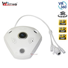 1080P WIFI Panoramic Camera 360 Degree 1.3MP 3MP Fisheye Panoramic IP Camera PTZ CCTV 3D VR Video IP Camera Surveillance HD(China)