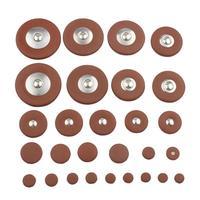 28 шт./компл. различные спецификации коврики для альт-саксофона Sax кожаный коврик для саксофона диаметр 8 мм-37 мм Подушка