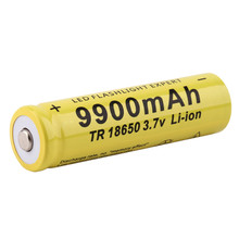 MICKTICK 18650 Battery 9900mAh 3.7V 18650 Rechargeable Batteries Li-ion Lithium Bateria LED Flashlight Torch li ion  Battery все цены
