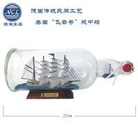 Drift Bottle Phát Hành Trong Một Chai HMS Bất Ngờ Sailing on Địa Trung Hải Nhà Ngồi Phòng Khách Trang Sức Nơi Tô Điểm Cho Quà Tặng Mô Hình Thủ Công