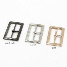 Metal Square belt buckles for shoes bag garment decoration Scrapbooking Sewing Size 40mm/50mm 10pcs/lot