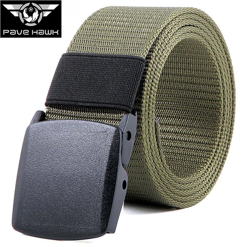 Marka Mężczyźni Pasa Canvas Nylon Outdoor sports Military Tactical - Ubrania sportowe i akcesoria - Zdjęcie 3