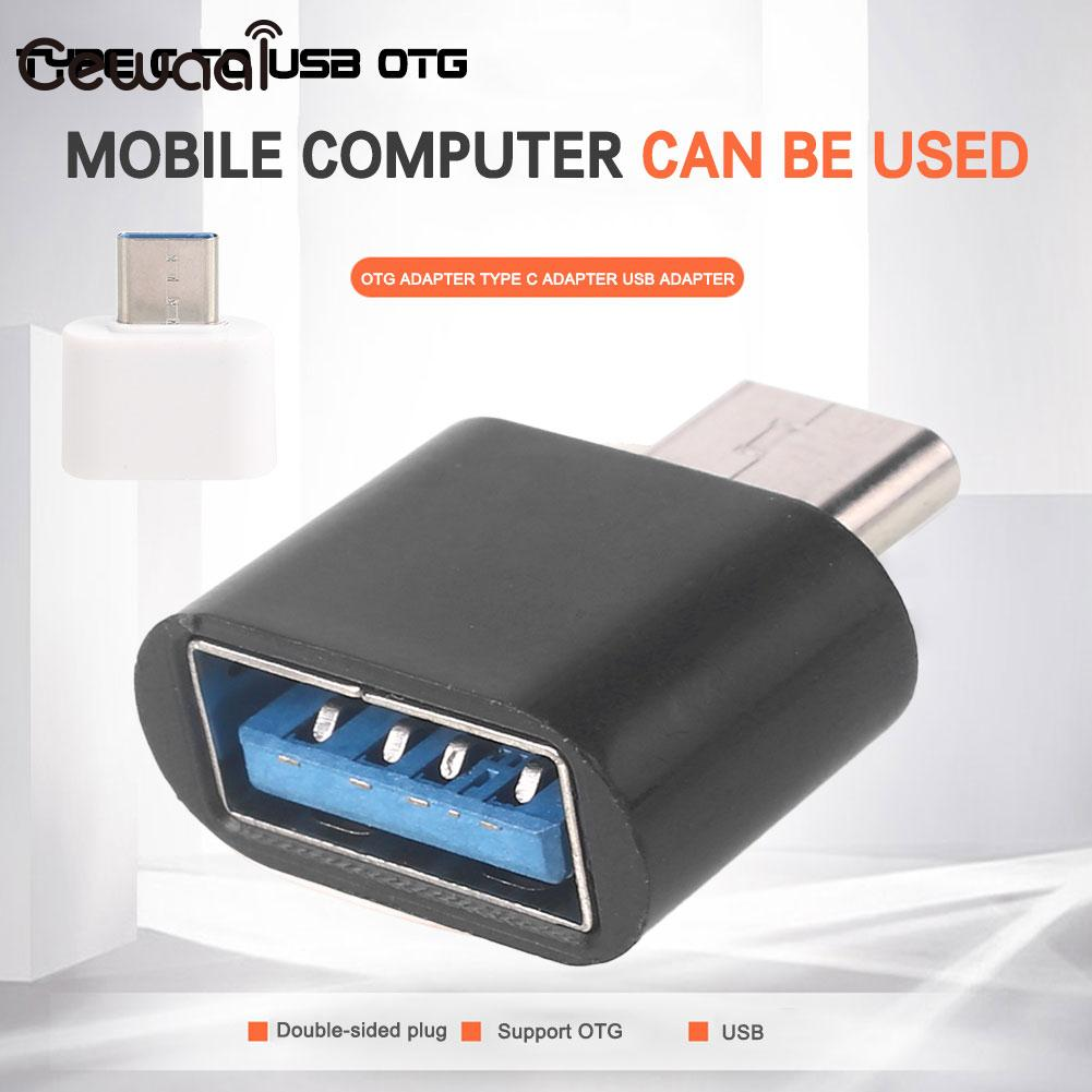 Premium USB To Type C OTG Adapter USB To Type C OTG Converter Charging U Disk Computer TypeC ABS USB