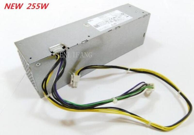SENLIFANG For DELL OptiPlex 3020 T1700 9020 Power Supply 255W H255AS-00 L255AS-00 YH9D7