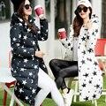 ГОРЯЧАЯ! 2016 Новая мода Ватные Куртка Женщин Зимнее Пальто Женщин Теплый Парки С Капюшоном Женщины Вниз Куртка Повседневная Пальто плюс Размер
