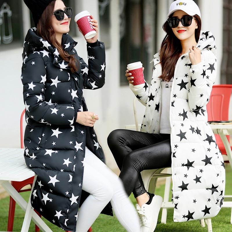 HOT 2016 New fashion Wadded Cotton Jacket Women Winter Coat Female Warm Parkas Hooded Women Down