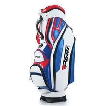 ПГМ Бренд для гольфа Стандарт сумка с крышкой Спорт 13Clubs пакет Мужской Гольф персонал мяч Профессиональный кожа PU тележки мешок линии Змея
