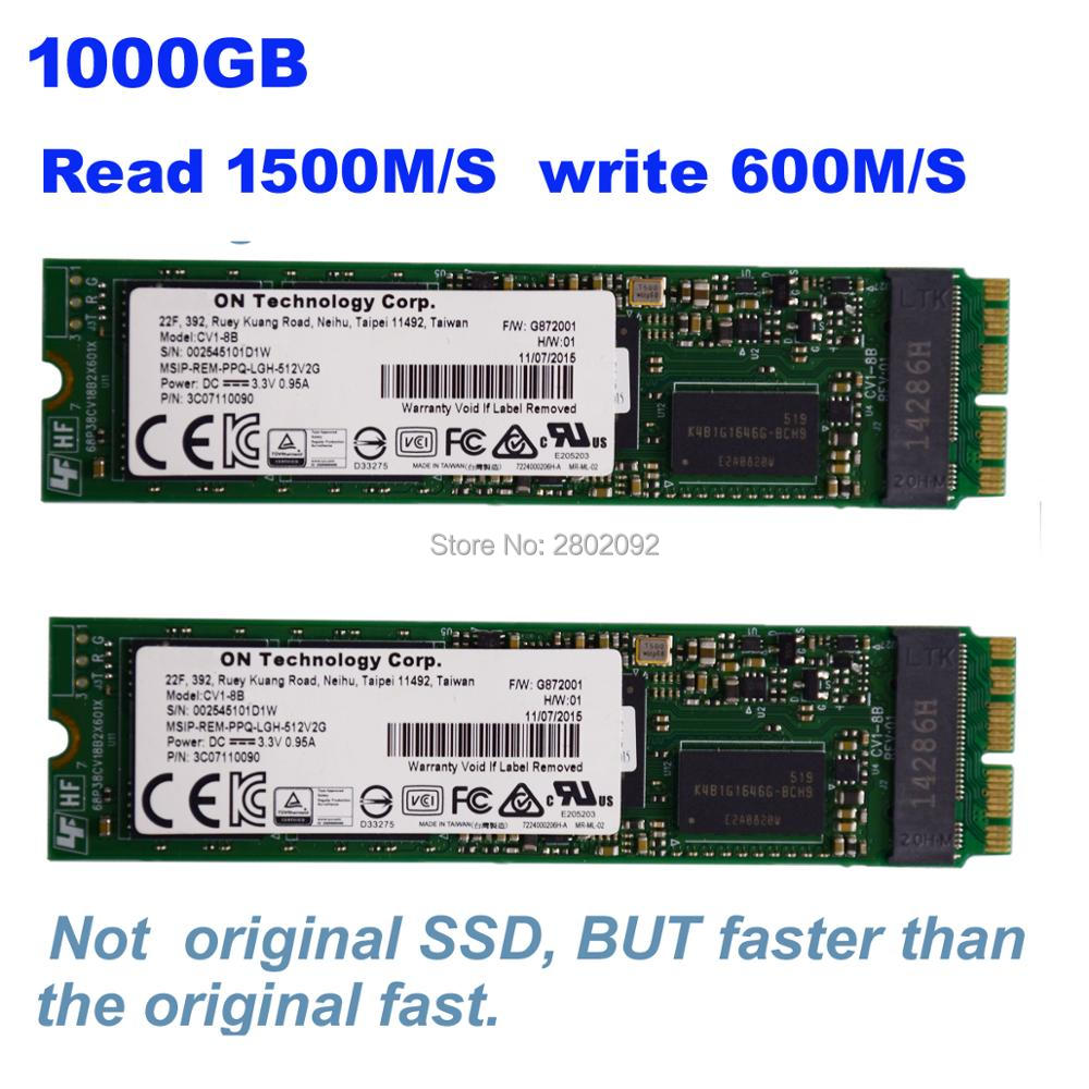 1TBGB 1000GB SSD For 2015 Macbook Air 2015 Macbook imac 2015 pro mini SOLID STATE DISK