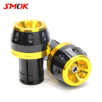 SMOK Motorcycle Scooter Accessories CNC Aluminum Alloy City Iron Man Refitting Frame Traffic Plug Cap Cover For Yamaha BWS X 125