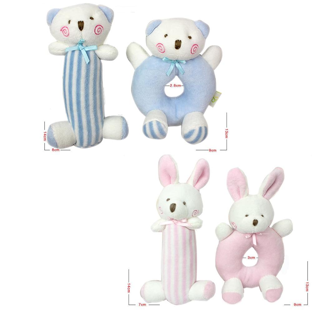 Հագուստի արջի մանկական զանգերը - Խաղալիքներ նորածինների համար - Լուսանկար 2