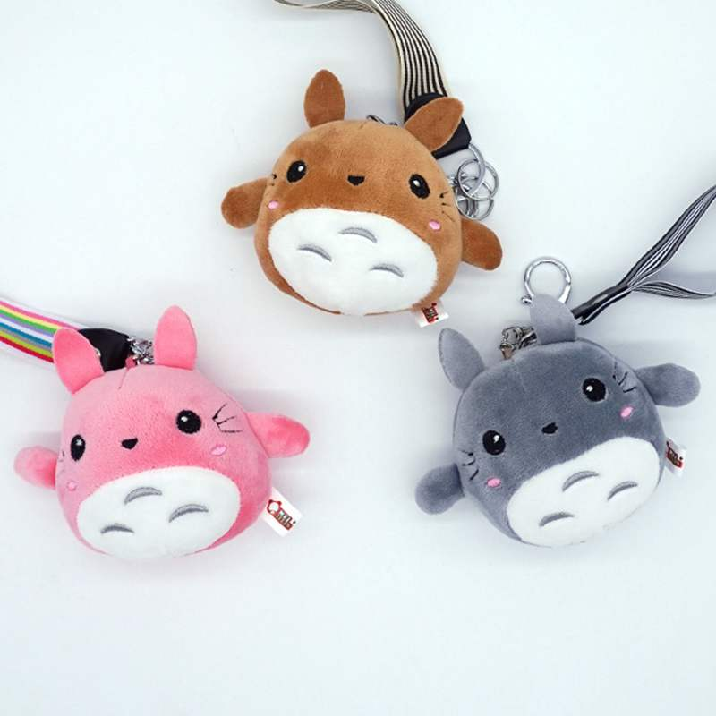1X Kawaii 15cm TOTORO Plush Stuffed TOY DOLL - Quality Delicate TOTORO Children's Party gift Keychain Plush TOY DOLL