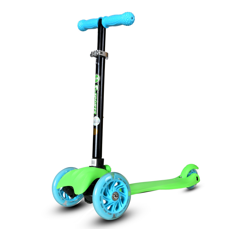 GF08 New Real Kids Light Scooter Child Four Round Wheel Folding Bike Slide Block Flash 4 Wheels Outdoor Toys 2-15years Bicycle bicicleta scooter flash wheel children outdoor toys tricycle kid bike car slide ride on toy with led light flash adjustable high