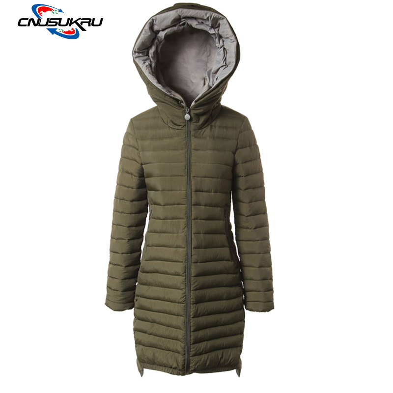 Casual Long Outwear Female Autumn Winter Parka 2017 Fashion Slim Hooded Cotton-Padded Jackets Winter Coat Women Plus Size 4XL