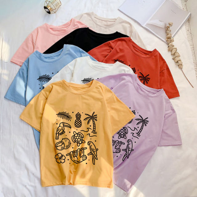 904dafb466 Lady Hipster Funny T shirt Women Summer Tumblr Grunge Fashion White Tee  Vacation Cute Graphic Tops Outfits Plus Size Tshir
