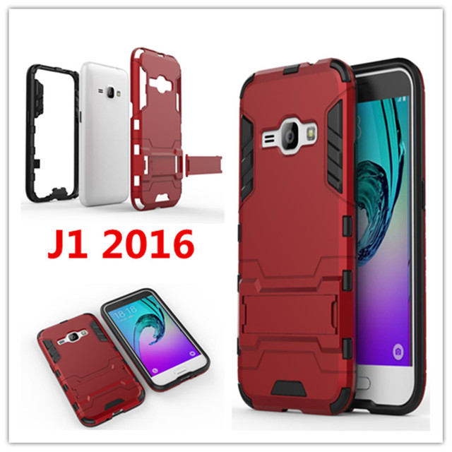 info for 516da 7dee1 US $4.89 |Hot For Samsung Galaxy J1 2016 Case J120 J120F Slim Shockproof  Robot Armor Hybrid Silicone Hard Phone Cover for Samsung J1 2016-in Fitted  ...