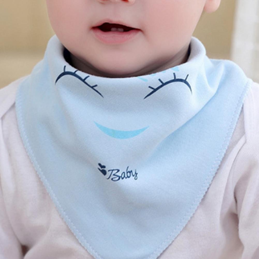 Lovely Cartoon Smile Heart Newborn Baby Bibs Soft Bib Burp Cloth For Babies Girls Boys Bib Babies Saliva Towel Clothing