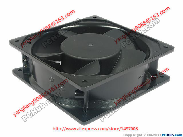 Free Shipping Emacro FULLTECH UF-12A23 AC 230V 60Hz, 2-Piece 120x120x38mm Server Square Cooling fan free shipping new uf 15pc23 bth ac 230v 29w 172x150x51 server round cooling fan