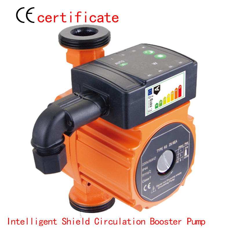 CE Approved Intelligent shield circulation booster pump RS25-5EAA, programmer control, air condition system,industry machine стоимость