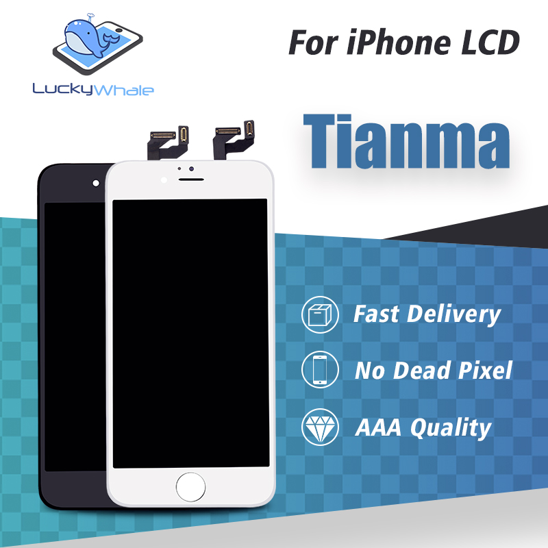 10PCS Best Tianma LCD Display For Apple iPhone 5 5s se 5c 6 6s 7 8