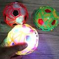 Свет Прыжки Мяч Дети Сумасшедшие Музыка Футбол детские Забавные Игрушки