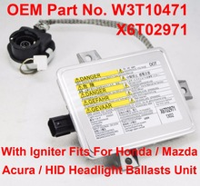 1PCS 35W D2S D2R OEM HID Xenon Headlight Ballast Computer Control Unit W/ Igniter Part W3T10471 X6T02971 For Honda Acura Mazda 3