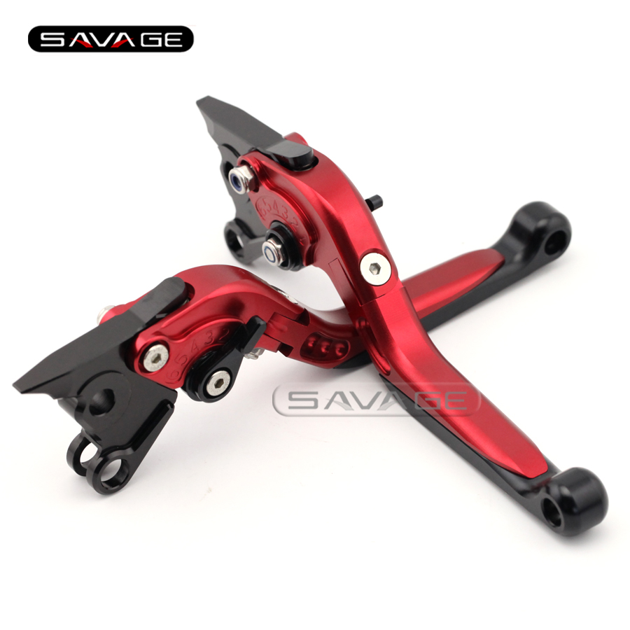 For DUCATI 748 750 900 1000/SS 996 998/S/R ST4 GT1000 Red Motorcycle Adjustable Folding Extendable Brake Clutch Levers кухонная мойка ukinox cml 465 gt r