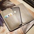 Природные Реальные Неподдельные Кожаные Case для iPhone 7 с Слот для Карт iPhone 7 plus Бумажник Case для iphone 6 s/6 Откидная Крышка Сумка