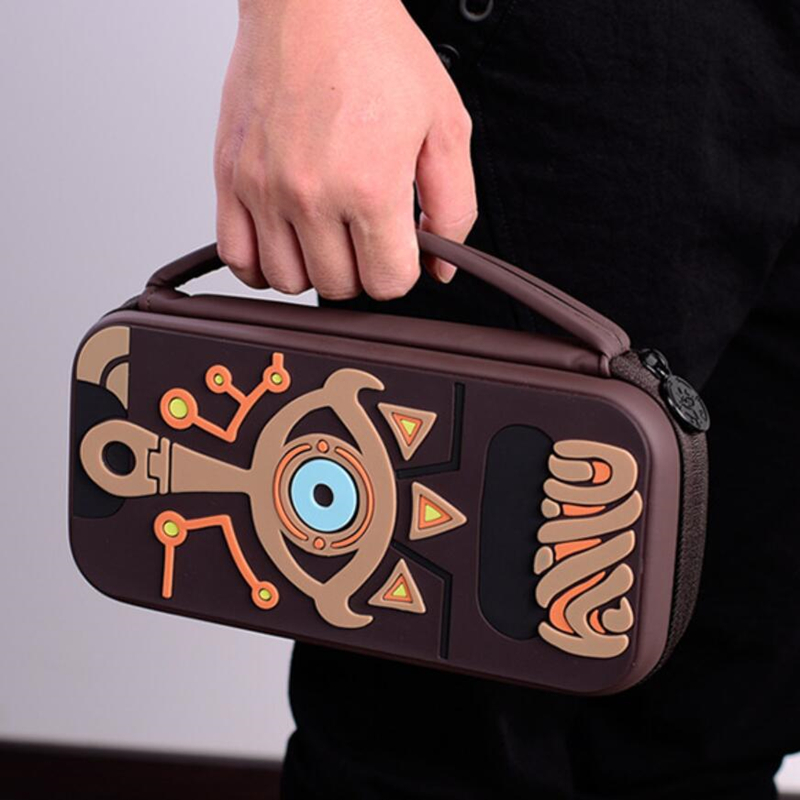 The Legend of Zelda Sheikah Slate Storage Bag For Switch Console Travel Carry Cover Protector Case Bags NS  1