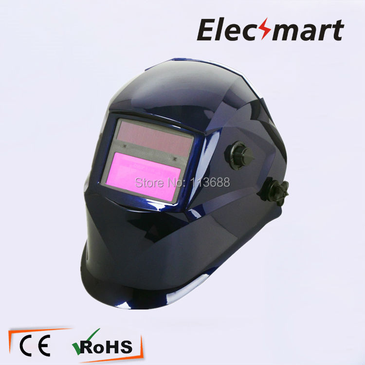 Professional Auto darkening welding cap TIG MIG MMA electric welding mask/helmet/welder cap/lens for welding fire flames auto darkening solar powered welder stepless adjust mask skull lens for welding helmet tools machine free shipping