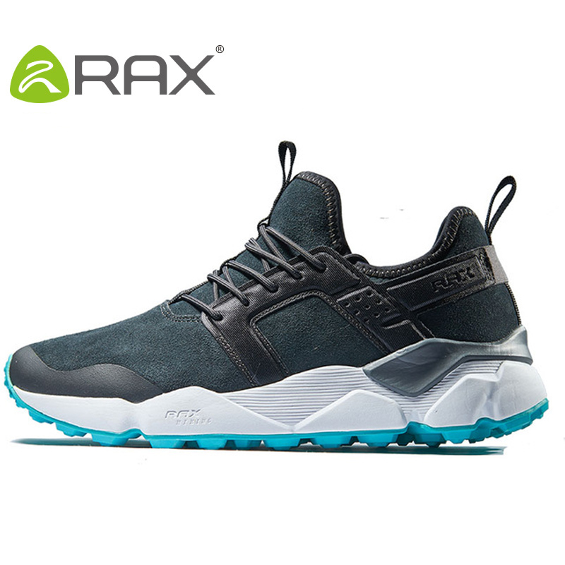 RAX Men's Winter Suede Leather Waterproof Hiking Shoes OutdoorTrekking Shoes for Women Mountain Climbing walking shoes