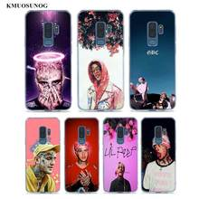 Transparent Soft Silicone Phone Cases XxxTentacion Lil Peep Bo For Samsung Galaxy S9 S8 Plus S7 S6 S5 Edge Note 9 8