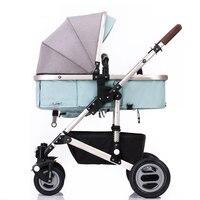 Orsut Детские коляски с высокой ландшафта Портативный складной четыре колеса амортизатор детские коляски