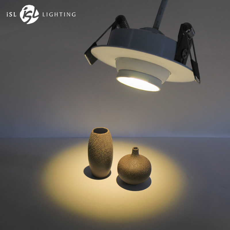 Aisilan Zoom мини Точечный светильник Focos Led Встраиваемый светодиодный светильник Регулируемый Встроенный светодиодный точечный AC90-260V