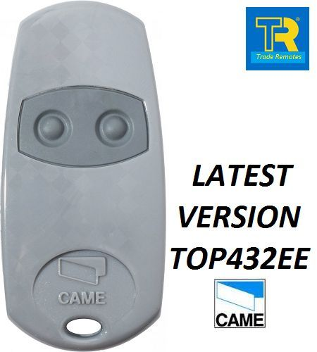 Came TOP432EE 2 Button Remote Key Fob CAME TOP432NA TOP432EV now is TOP432EE in Door Remote Control from Security Protection
